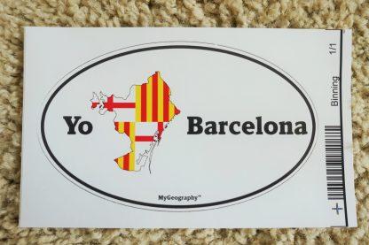 Barcelona Bumper sticker