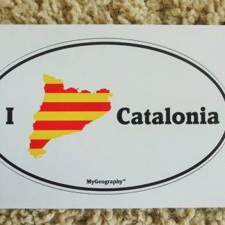 Catalonia bumper sticker