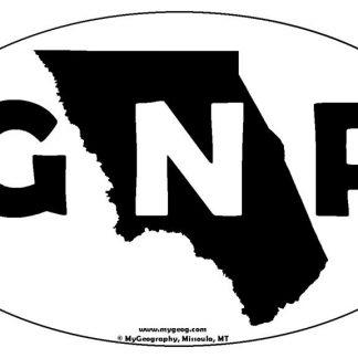 GNP bumper sticker
