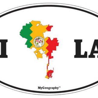 Los Angeles bumper sticker