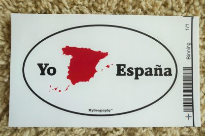 Spain bumper sticker Spanish