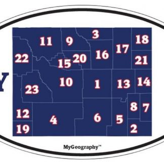 Wyoming license plate number